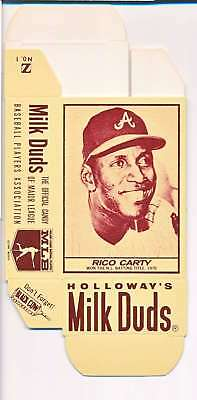 1968 Milk Duds Halloway's Rico Carty Braves Card Nm Vl657