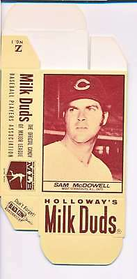 1968 Milk Duds Halloway's Sam Mcdowell Indians Card Nm Vl664