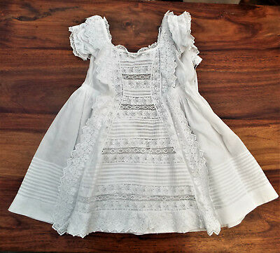 Antique Embroidered/lace Baby Dress