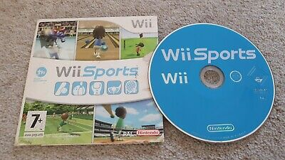 Wii Sports 5x sports games tennis boxing golf baseball bowling