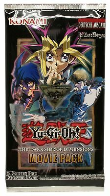 Yugioh - The Dark Side of Dimensions- Movie Pack- 1 Booster- Deutsch- 1. Auflage
