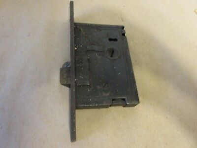 Antique Victorian Eastlake Entry  Door Lock BY    R.H.Co.(TS6)