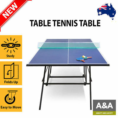 NEW Table Tennis Table Pro Size Ping Pong Table