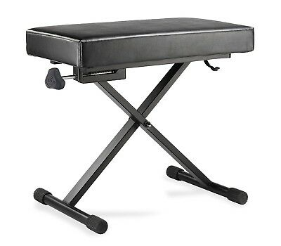 Hercules KB200B Deluxe Keyboard bench with micro adjuster