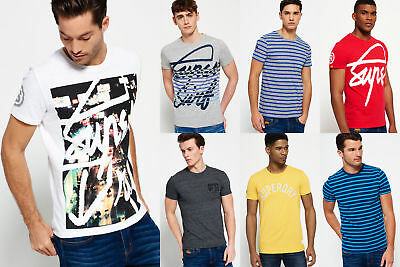 New Mens Superdry Tshirts Selection - Various Styles & Colours 1209 1