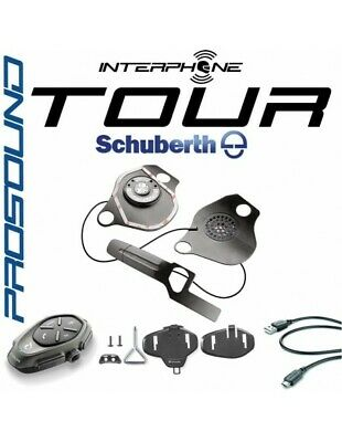 RXUK Tour single Interphone Cellularline Pro Sound SCHUBERTH