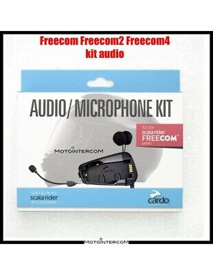 RXUK Freecom2 Freecom4 Audio Kit complete with accessories