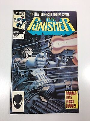 Punisher #1 Limited Series (Marvel comics 1986) VF/NM   Key Copper Age comic!!