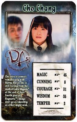 Cho Chang - Harry Potter & The Order Of The Phoenix Top Trumps Card (C427)