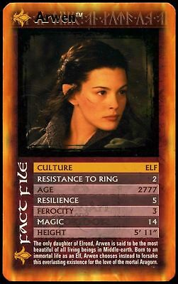 Arwen - Lord Of The Rings The Two Towers Specials Top Trumps Card (C429)