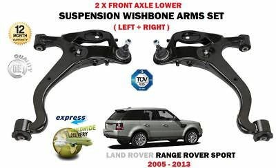 For Range Rover Sport 2005-> 2X Front Left Right Lower Wishbone Suspension Arms