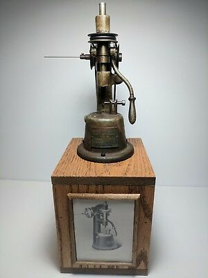 Antique American Optical Company Lens Drilling Machine 1912 RARE