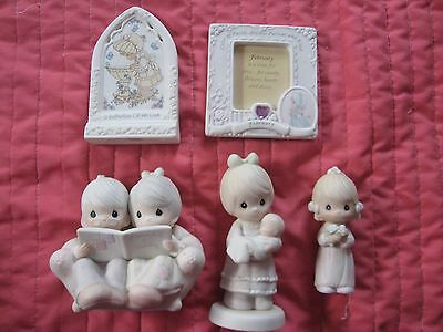 Lot of 5 Vintage Precious Moments Figurines