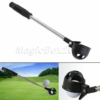 1pcs Retractable Telescopic Golf Ball Retriever Scoop Automatically Ball Pick Up
