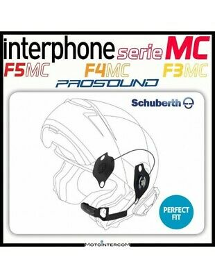 RDE Kit Audio Pro Sound Interphone SCHUBERTH C3 F5MC F4MC F3MC