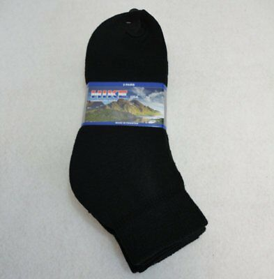 Bulk Lot of 240 Pairs Mens Black Ankle Socks FREE SHIPPING!!! sz 10-13