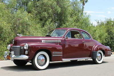 1941 Cadillac Coupe Coupe 1941 Cadillac Coupe Series 62 Full CCCA Classic
