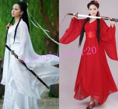 Fairy Clothing Ancient Chinese Women Hanfu Dancing Dress Costume Cosplay Tang sz