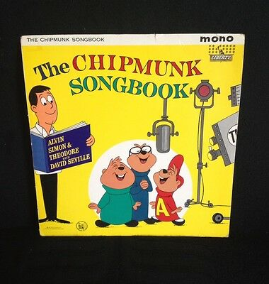 The Chipmunk Songbook LP LBY1087