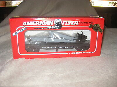 American Flyer by Lionel Flat Car with Derrick (6-49009)