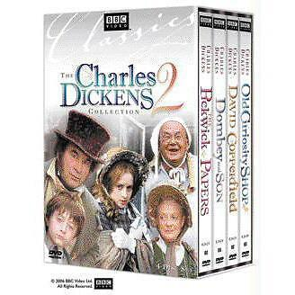 Charles Dickens Collection 2 (DVD, 2006, 4-Disc Set, Slipcase) (dv547)