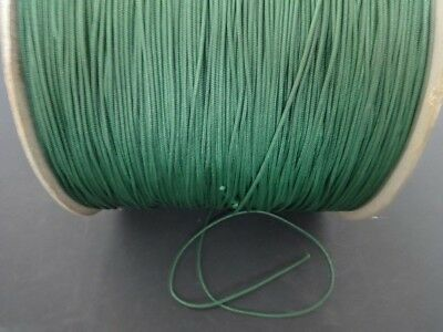20 FEET:1.8 MM Forest GREEN LIFT CORD for ROMAN/PLEATED shades & blinds