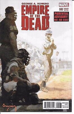 Marvel George A. Romero EMPIRE OF THE DEAD #5 variant cover