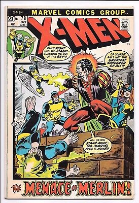 Marvel Comics THE X-MEN #78 first printing