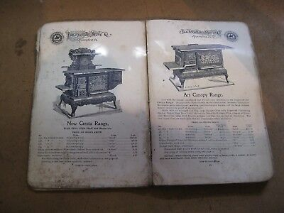 antique buckwalter stove co. catalog royersford pa circa 1913