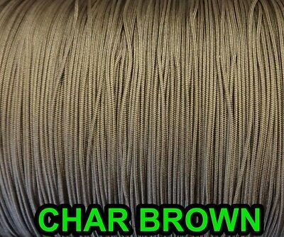10 YARDS: CHAR BROWN 1.6 MM Professional  Nylon Lift Cord For Blinds & Shades