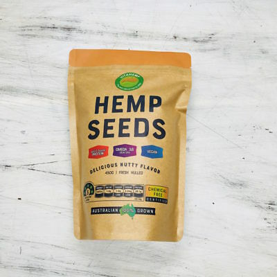 Australian Grown Naturals Australian Hulled Hemp Seeds 500g