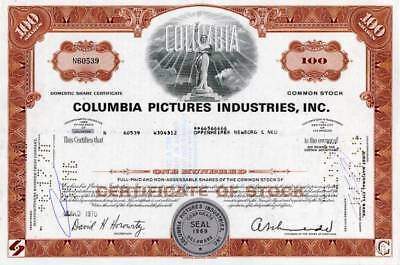 Columbia Motion Pictures Corporation  - 1970
