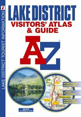 Lake District Visitor's Atlas (A-Z Road Map... by Geographers' a-Z Map Paperback