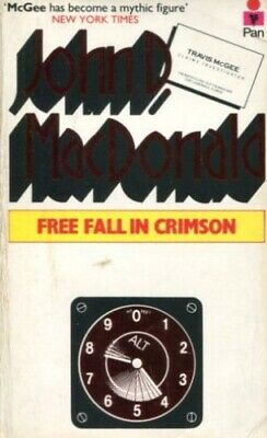 Free Fall in Crimson by MacDonald, John D. Paperback Book The Cheap Fast Free