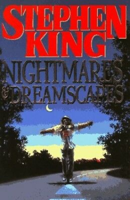 Nightmares and Dreamscapes by Butterworth Book The Cheap Fast Free Post