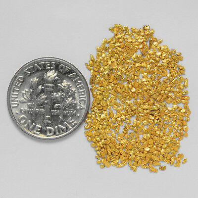 0.8331 Gram Alaskan Natural Gold Nuggets - (#19459) - Hand-Picked Quality