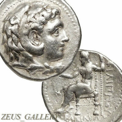 ALEXANDER the GREAT Type Kings of Macedon Coin Ancient Greek Silver Tetradrachm