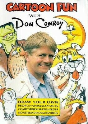 Cartoon Fun with Don Conroy: Draw Your Own - People,... by Conroy, Don Paperback