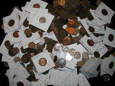 CANADA ~ 650 Coins ~ SUPER World Collection Bulk Lot! #68