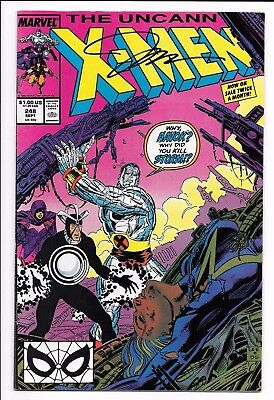 Marvel Comics THE UNCANNY X-MEN #248 first printing SIGNED by Jim Lee