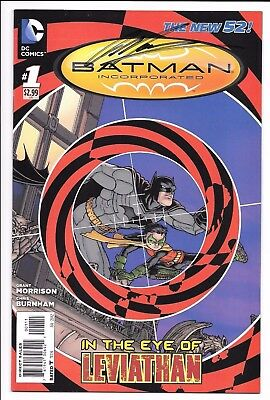 DC Comics New 52 BATMAN INCORPORATED #1 first printing SIGNED by Grant Morrison