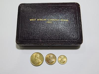 British West Africa Currency Board 1920 Kn Two One Shillings 6 Pence Coin Lot
