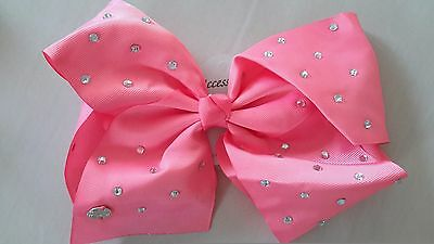 Jazzy JOJO bow by - ACCESSORIES Pink diamond crystal bridesmaid girls party gem