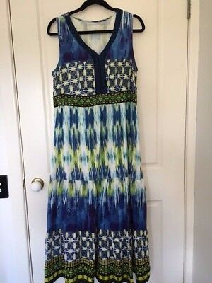 Orientique long cotton dress - Size 16 - gently worn