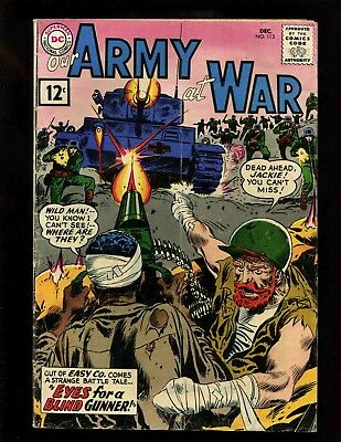 Our Army at War #113 VGF Kubert 1st Wild Man & Jackie Johnson Sgt Rock & Easy Co