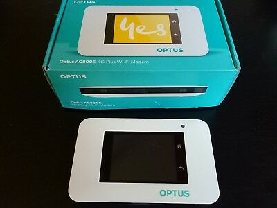 Optus ac800s 4G LTE Mobile Router