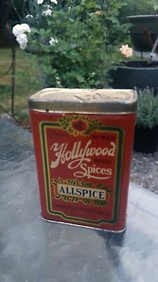 Vintage Hollywood Spice Tin