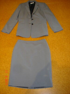 Table Eight Ladies Size 10 Skirt Suit Grey