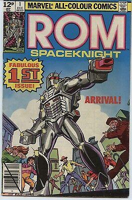 ROM Spaceknight 1 (Vol 1, Dec 1979) – Key Issue, UK Price Variant