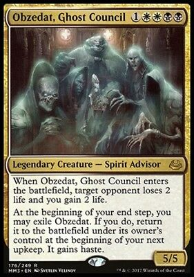 MTG Obzedat, Ghost Council [English, Modern Masters 2017, Free P&P]